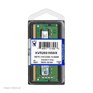 MEMORIA DDR4 KINGSTON KVR26S19S8/8