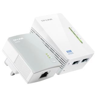 Kit Extensor Powerline WiFi AV600 a 300 Mbps TL-WPA4220KIT