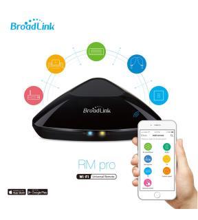 BroadLink RM PRO Plus Mando a distancia universal Infrarrojo IR RF domotica